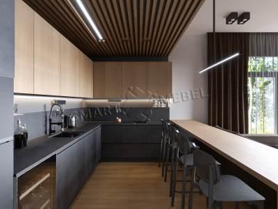 Кухни индивидуальный проект K33