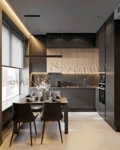 Кухни индивидуальный проект K12