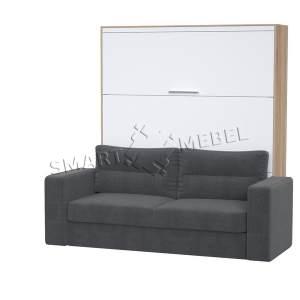 Шкаф-кровать-диван HF PLUS-160 NEW