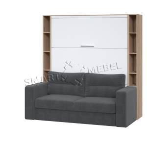 Шкаф-кровать-диван HF PLUS-160 K2