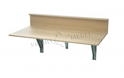 Convertible table-transformer with a shelf
