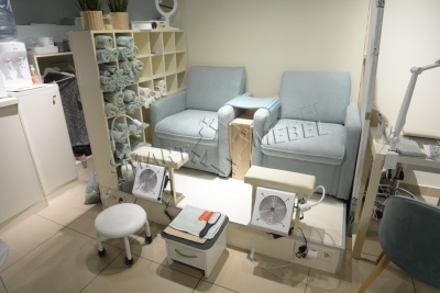 Salon in the shopping center Levoberezhny