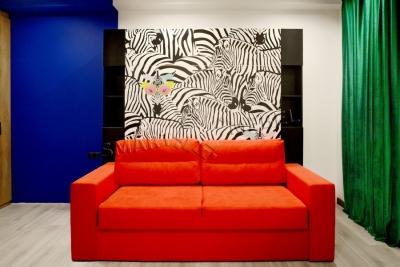 ЖК Новая Англия | Шкаф-кровать-диван JUPITER NEW