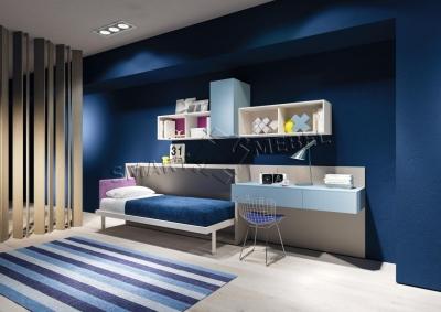 Горизонтальная Шкаф-Кровать GRANADA 90