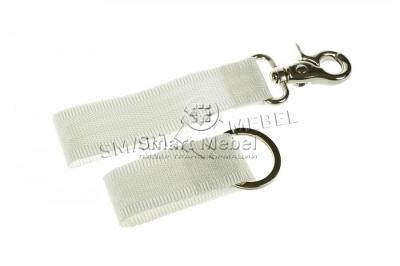 Carabiner lock for wardrobe bed
