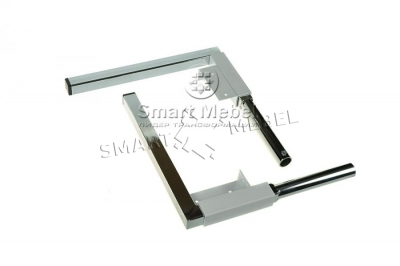 Legs for wardrobe-bed (stainless steel) 213mm
