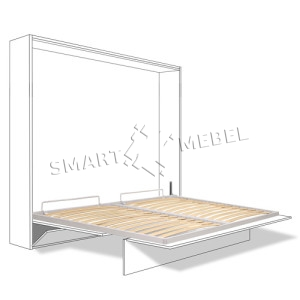Механизм трансформации шкаф кровать Geniuus Италия 1600мм