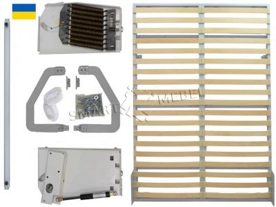 A set of fittings for wardrobe-bed 2000х1600 frame ENHANCED (Ukraine)