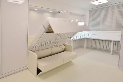 RC Nyvky Park | Murphy Bed & Sofa Combo ALADINO