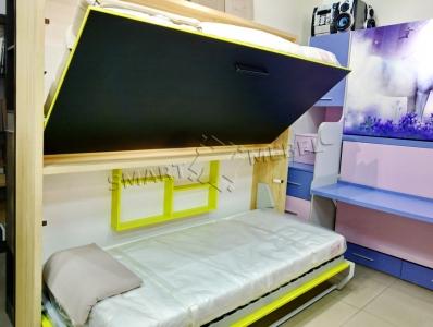 Двухъярусная Шкаф-Кровать JUPITER
