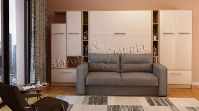 4 M - Wardrobe-bed-sofa HF PLUS-160 NEW