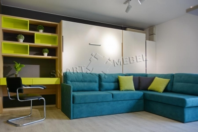 Murphy Bed  & Sofa Combo SIRIUS
