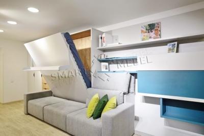 Шкаф-кровать-диван SOUL