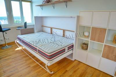 Горизонтальная Шкаф-Кровать HELFER 120
