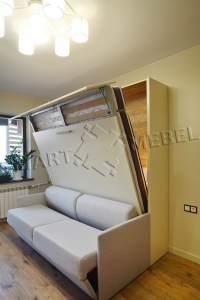 Шкаф-Кровать-Диван ALADINO