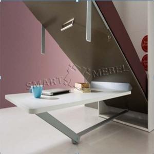 Механизм трансформации стола-кровати Rolly (Италия)