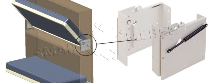 Подъемники для шкаф кровати