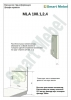 Комплект фурнитуры для шкафа-кровати 2000х800  (Италия) - фото 1