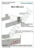 Комплект фурнитуры для шкафа-кровати 2000х800  (Италия) - фото 2