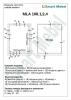 Комплект фурнитуры для шкафа-кровати 2000х800  (Италия) - фото 3