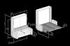 Transformation mechanism wardrobe-bed ALì 1400; 1600; 1800mm (Italy) - photo 11